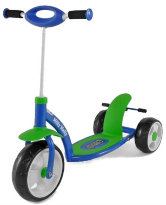 Самокат Scooter active цвет: Blue/green