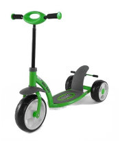 Самокат Scooter active цвет: Green
