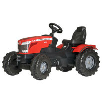 Трактор Rolly farm trac MF 8650 601158 цвет: Красный